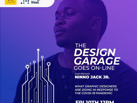 COVID-19: Designing For Disaster with Ninno Jack Jr.  #TheDesignGarage