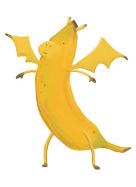 Banana Dragon Origins