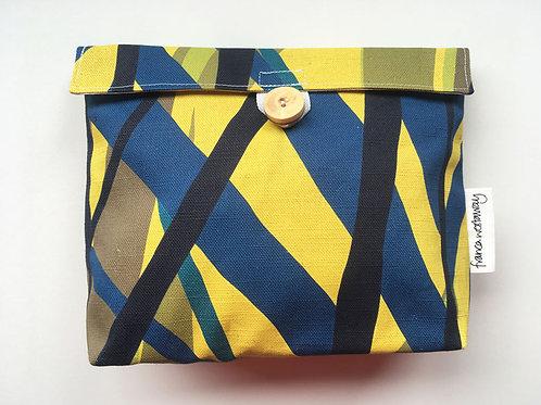 'MARK' (ochre)  cosmetics bag