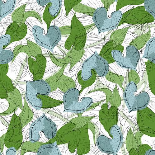 'Hosta' - fabric