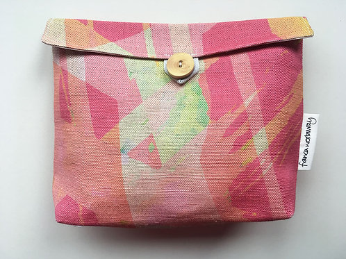 'IN THE PINK' cosmetics bag