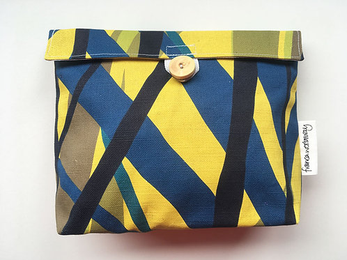 'MARK' ochre - cosmetics bag
