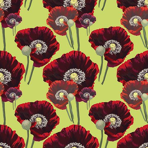 'Poppygosh' - fabric