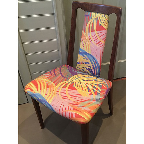 'TROPIC' upcycled G Plan chair
