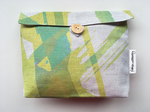 'LEMON AND LIME' cosmetics bag