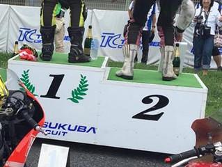 筑波選手権Rd3  2クラスで勝利!