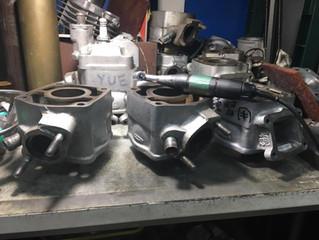 50ccシリンダー加工