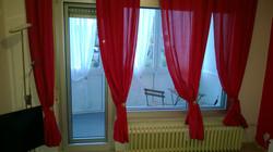Living room overlooking the veranda