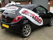 Exon Race Engine, Rear Window and Side Car Graphics