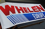 Whelen Europe Banners 1 x 3mt