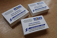 Wolds Engineering Business Cards