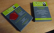 Carter Olive leaflets