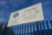 Fibre glass exterior signage