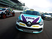 Grange Developments BTCC Clio Cup Car Graphics