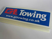 GT Towing Decals