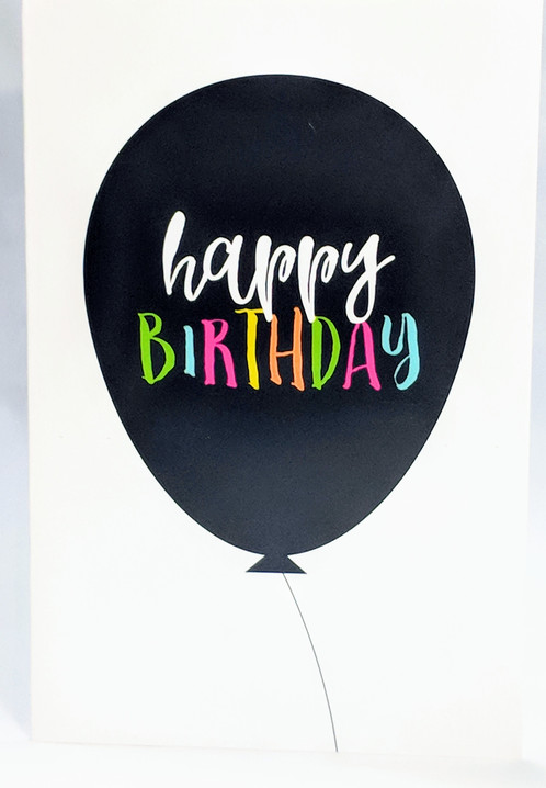 Personalized Happy Birthday Card