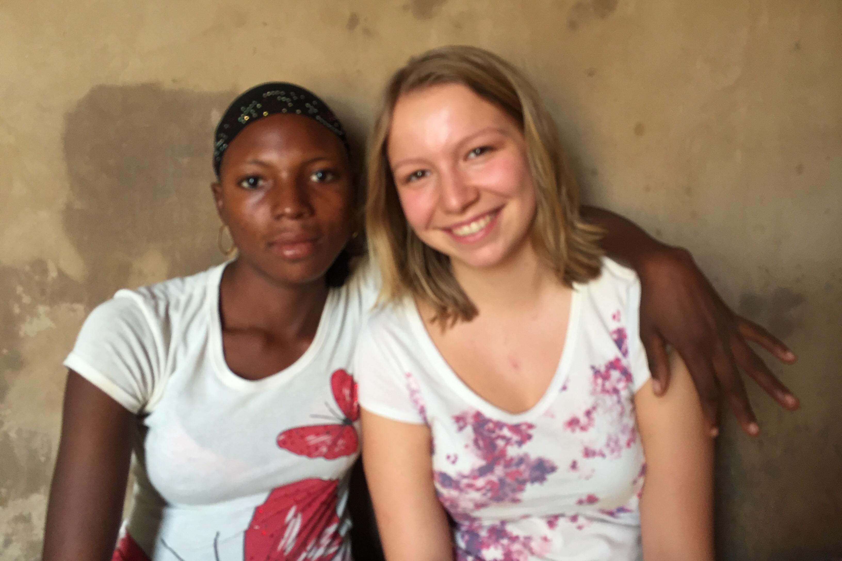 Justine et Léa