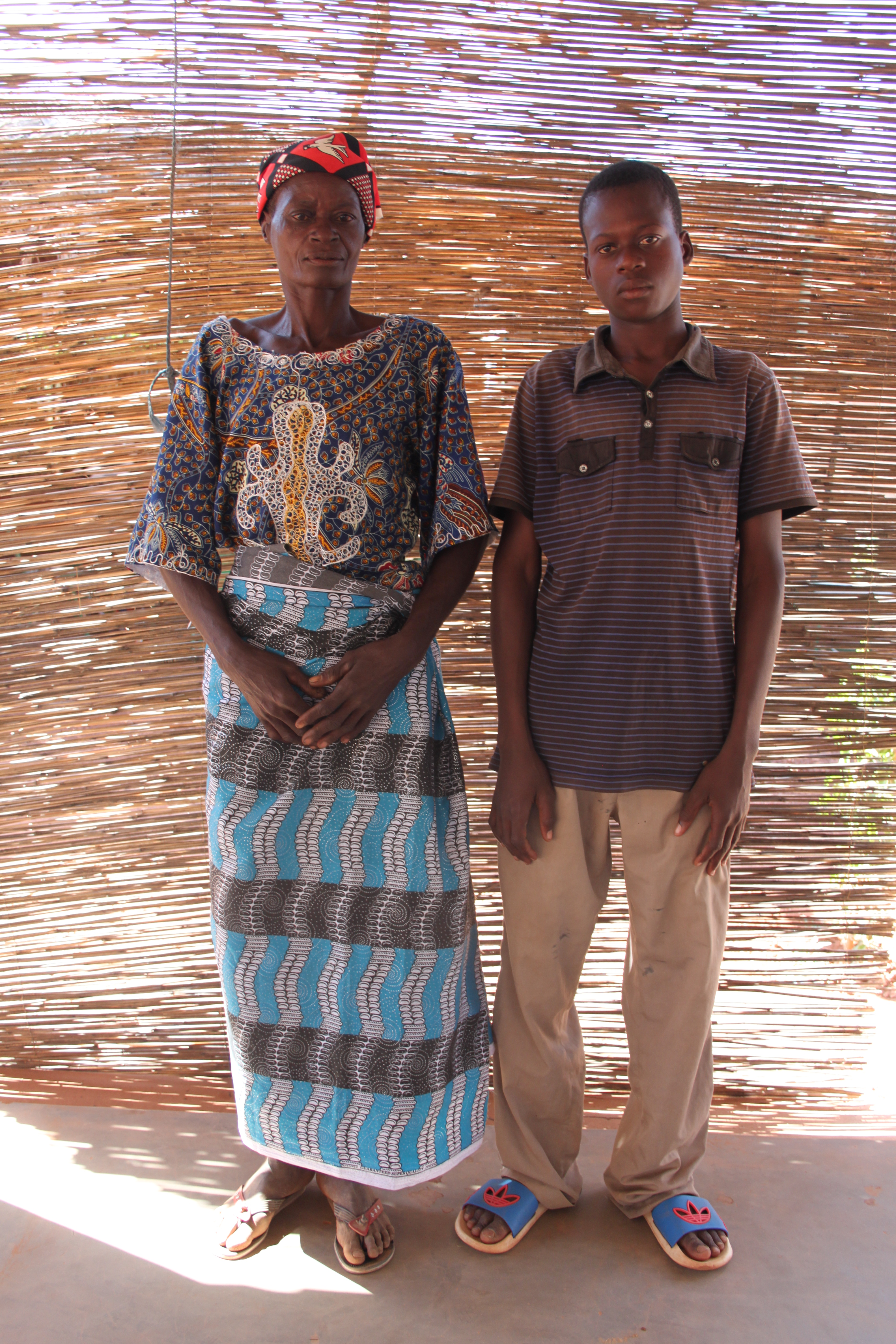 Jonas et sa maman