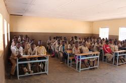 Neymata dans sa classe de 4e