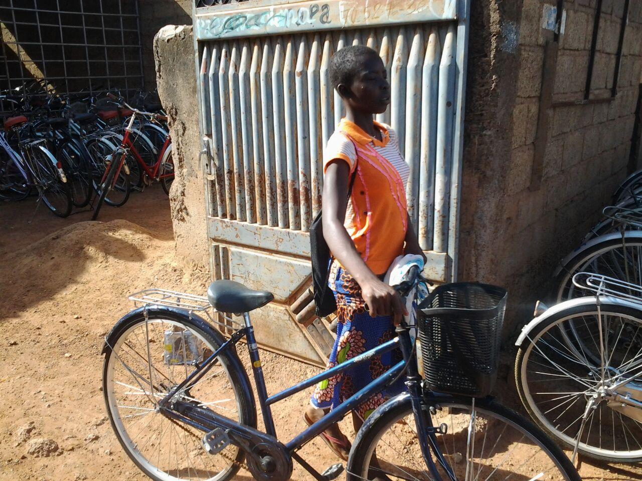 Son premier vélo