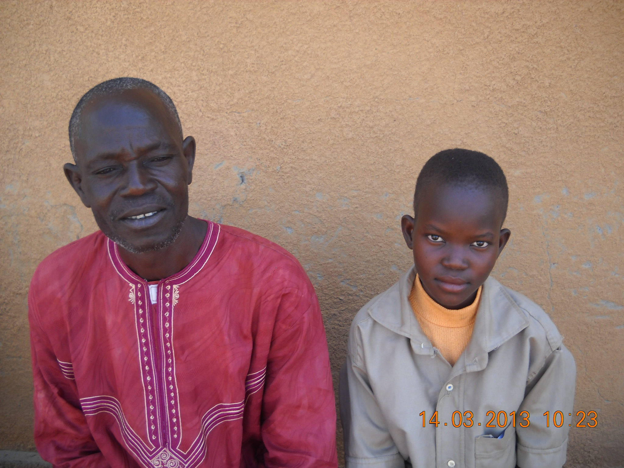 Neymata et son papa en 2013