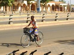 Un vélo pour aller au lycée