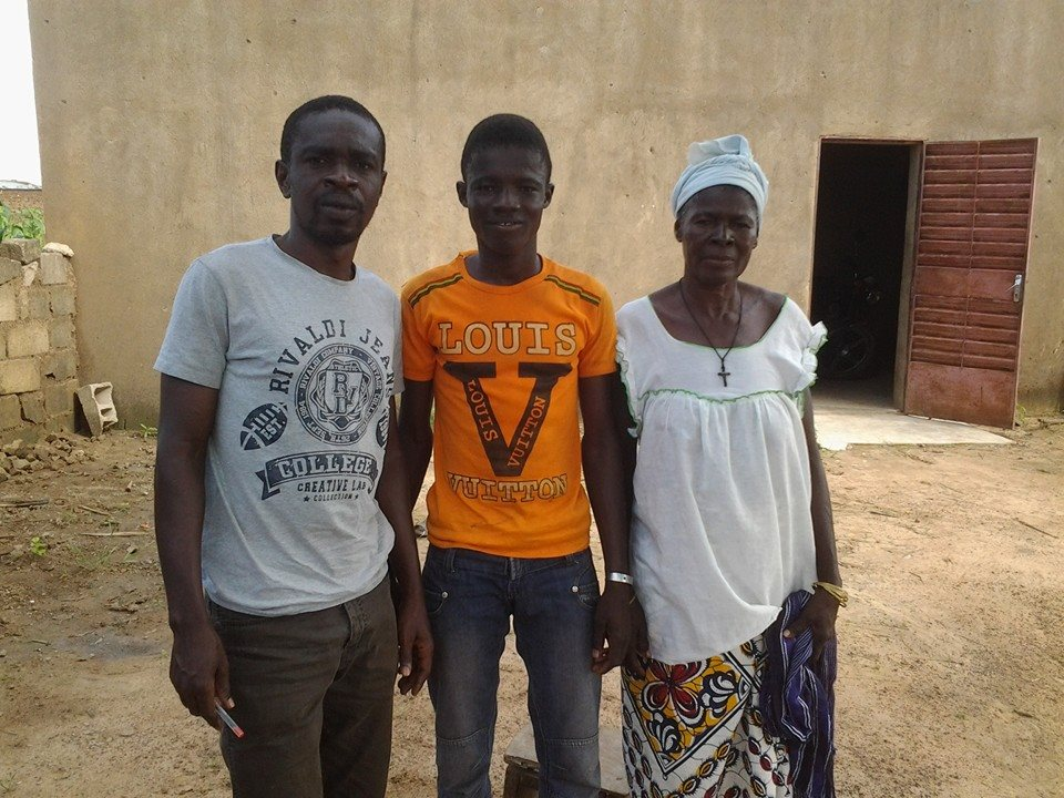 Apollinaire, Robert et sa maman
