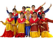Bhangra Costumes for Girls - SKU: B102