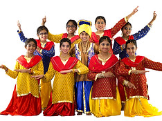 Bhangra Costumes for Girls - SKU: B102