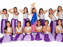 Purple Skirt and Silver Tops - SKU: B129