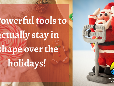 3 Powerful Tools to Actually Stay in Shape Over the Holidays