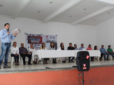 Entrega de lentes a los beneficiados de Jornadas de Salud Peñoles en alianza con Fundacion UNAM