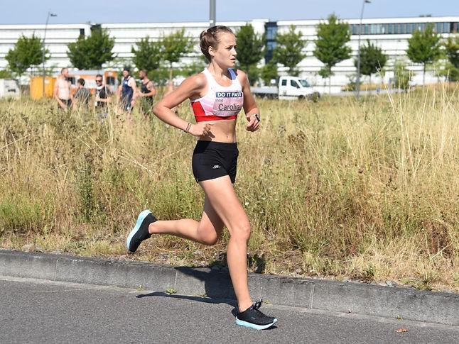 Mit Carolin Joeken schließt sich eine erfahrene Straßenläuferin dem Braunschweiger Laufclub an. Sie möchte zu Teamerfolgen bei deutschen Meisterschaften beitragen. Foto: Michele Lemmen