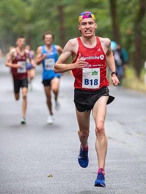 David Brecht verbesserte in Berlin seine persönliche Bestleistung über 10 km.