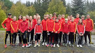 Teilnehmer des Herbsttrainingslagers 2020
