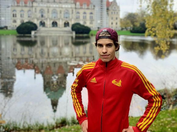 Silas Bergmann freut sich auf die kommenden Herausforderungen beim Braunschweiger Laufclub.