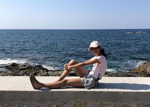 Anna Malena Wolff López beim Urlaub 2019. Foto: Wolff López