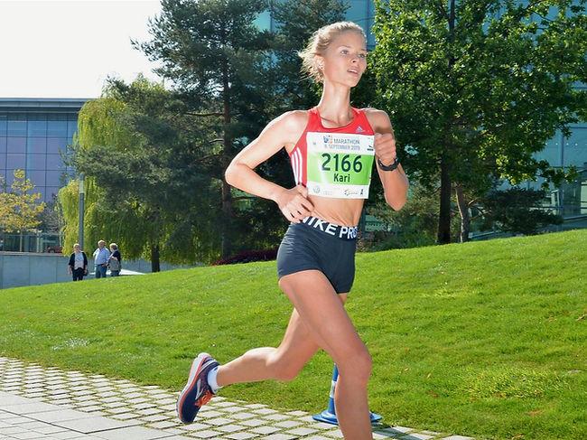 Karianne Nölken hat 2020 einen riesen Leistungssprung absolviert. Beim Braunschweiger Laufclub möchte sie nun auch in der Mannschaftswertung voll angreifen und erhöfft sich langfristig ein starkes Frauenteam.