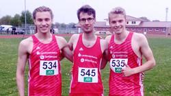 Zwei Staffelsiege für das Laufteam