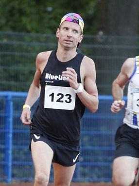 Wettkampfläufer Dominik Schrader.