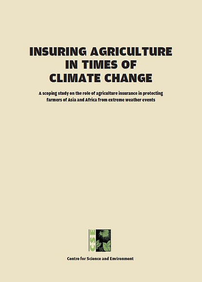 Climate Change_Insurance_Agri Insurance