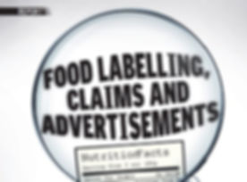 FST_Food labeling, claims _ advertisemen