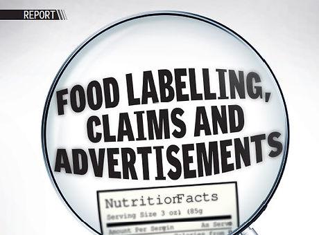 FST_Food labeling, claims _ advertisemen