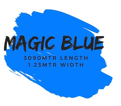 MAGIC BLUE - 3090M x 1.23MTR WIDTH