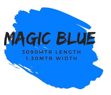 MAGIC BLUE - 3090M x 1.30MTR WIDTH