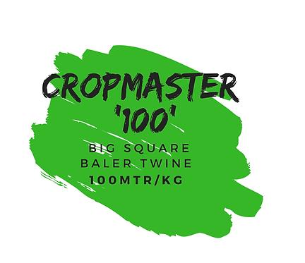 'CROPMASTER 100' BIG SQUARE BALER TWINE [100 MTR/KG]