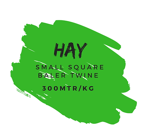 'HAY' SMALL SQUARE BALER TWINE [300 MTR/KG]