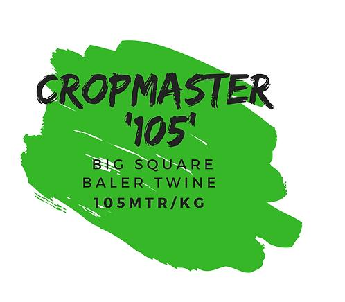 'CROPMASTER 105' BIG SQUARE BALER TWINE [105 MTR/KG]