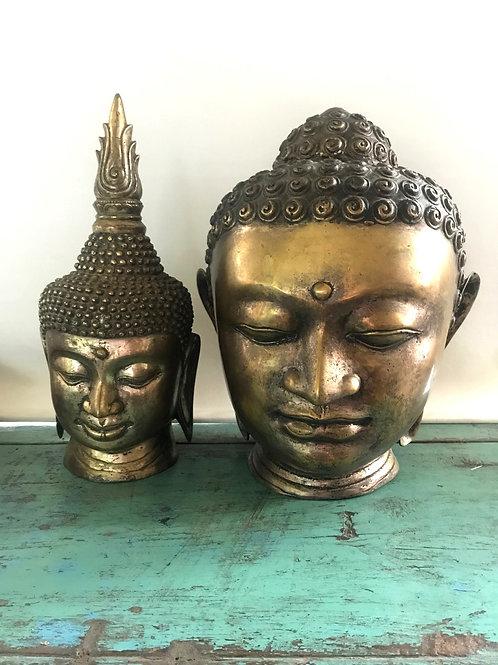 Boeddha hoofd 2x