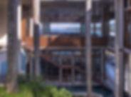Architectural Metal Stair Design in Steel Domincan Republic